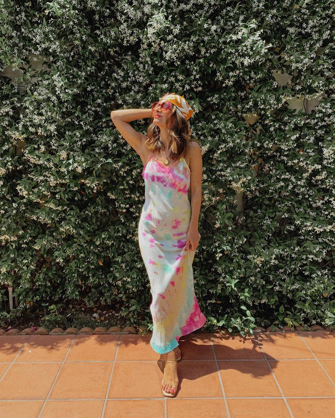 Tie dye Maxi dress for this Summer