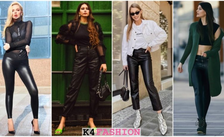 Outfits That'll Make You Want a Pair of Leather Pants Right Now