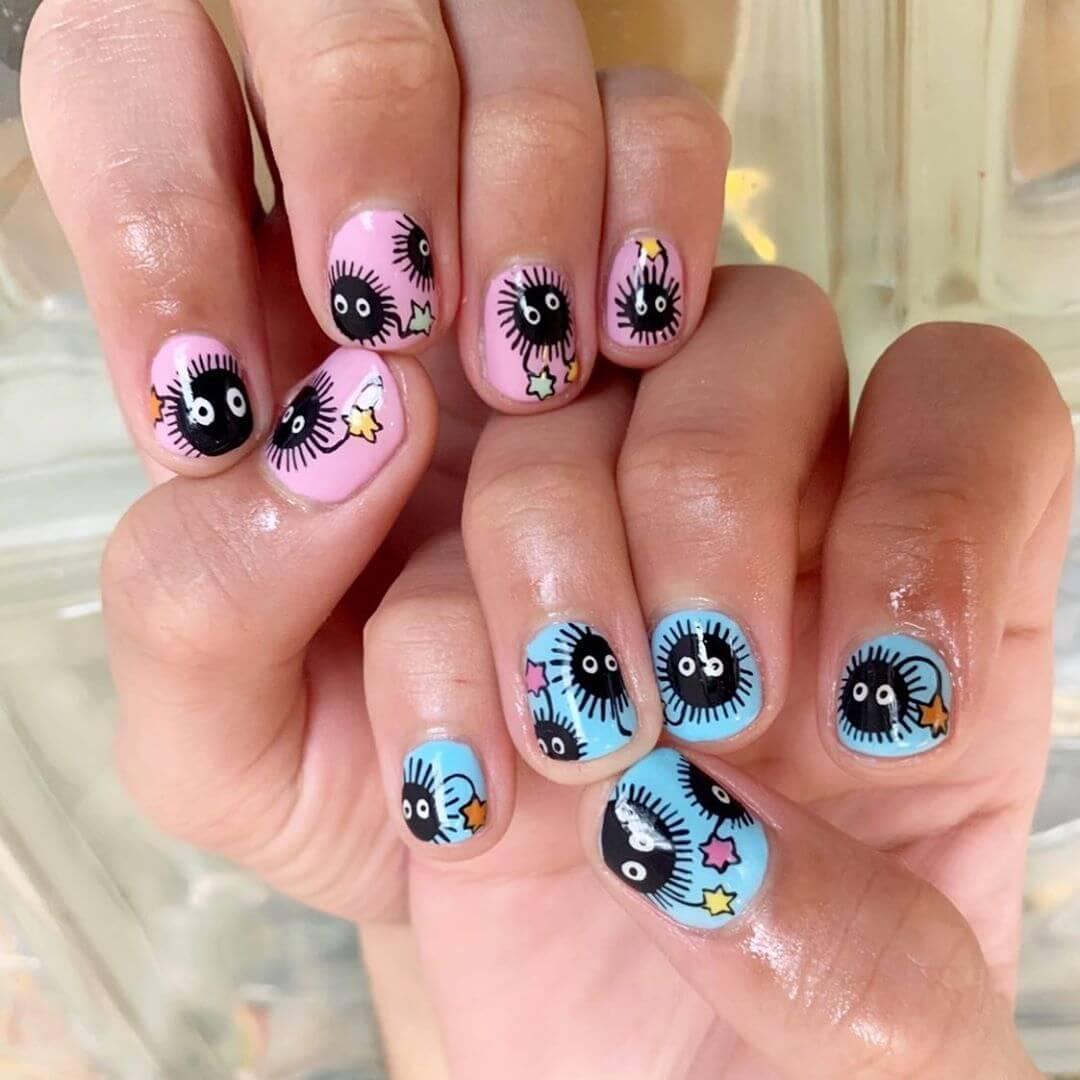 Coronavirus-themed nail art designsFun Times