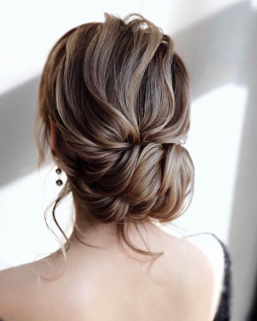 Step by Step Twist layer lower bun Hairstyles for Long, Medium, Short Hair