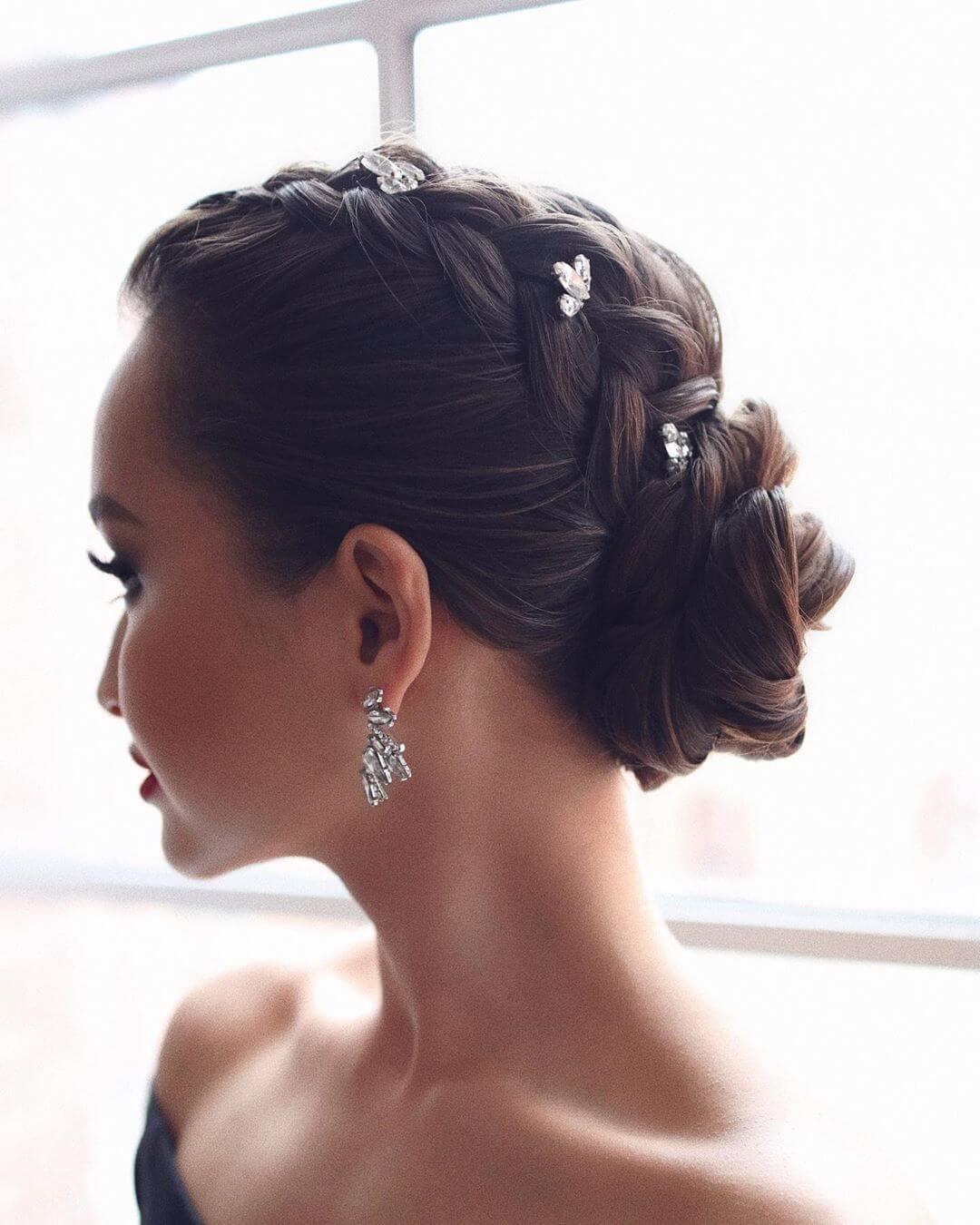 Step by Step Bridal bridge bun Hairstyles for Long, Medium, Short Hair