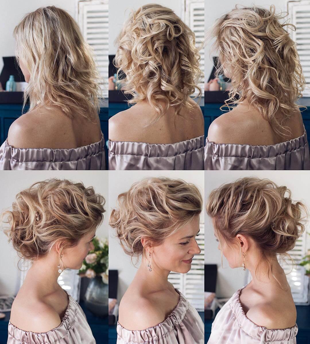 Step by Step Super messy hair bun Hairstyles for Long, Medium, Short Hair