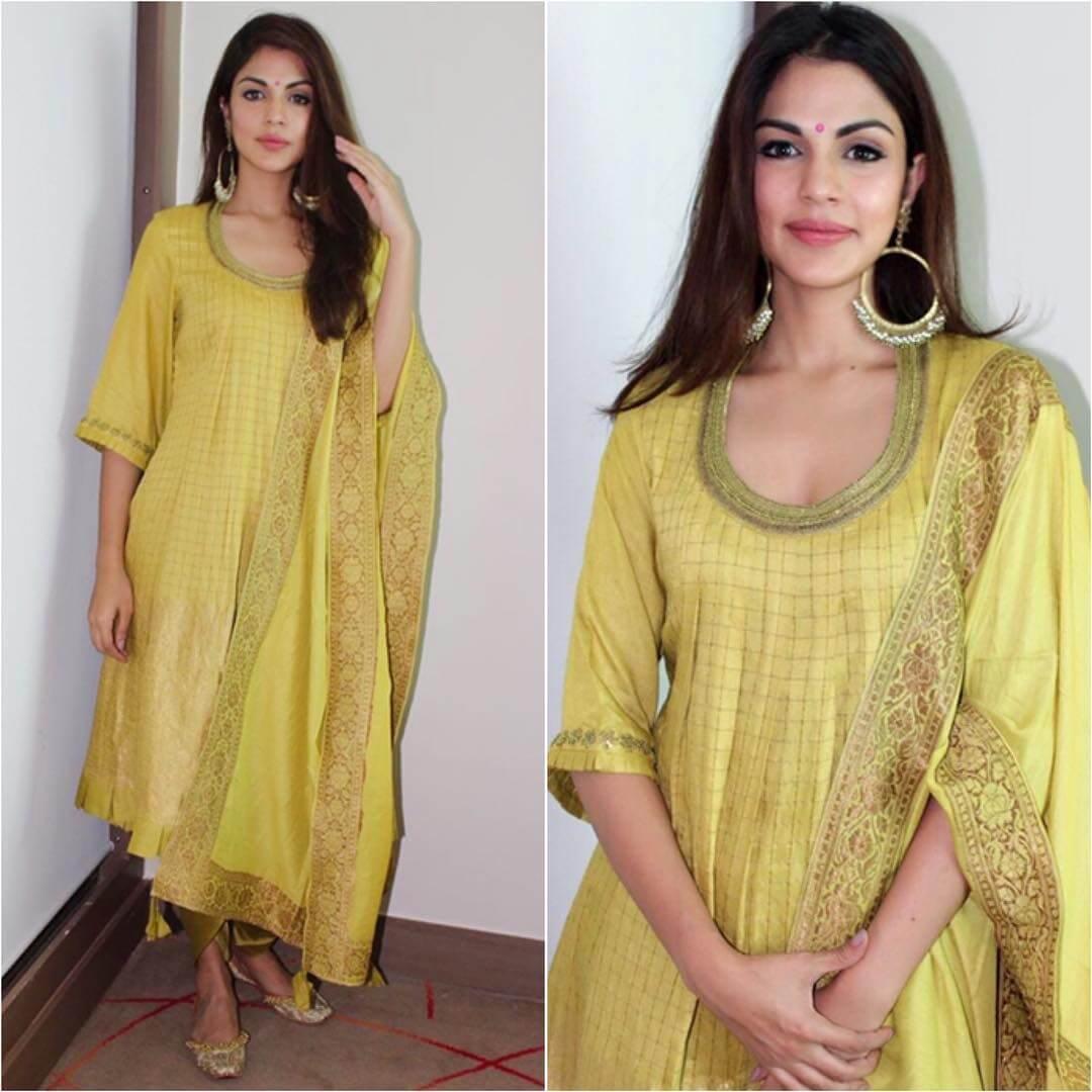 Modern look of suit Ethnic wear for Rakshabandhan