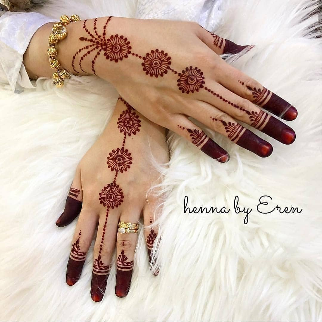 Jewelry Latest Mehndi Designs for Raksha Bandhan