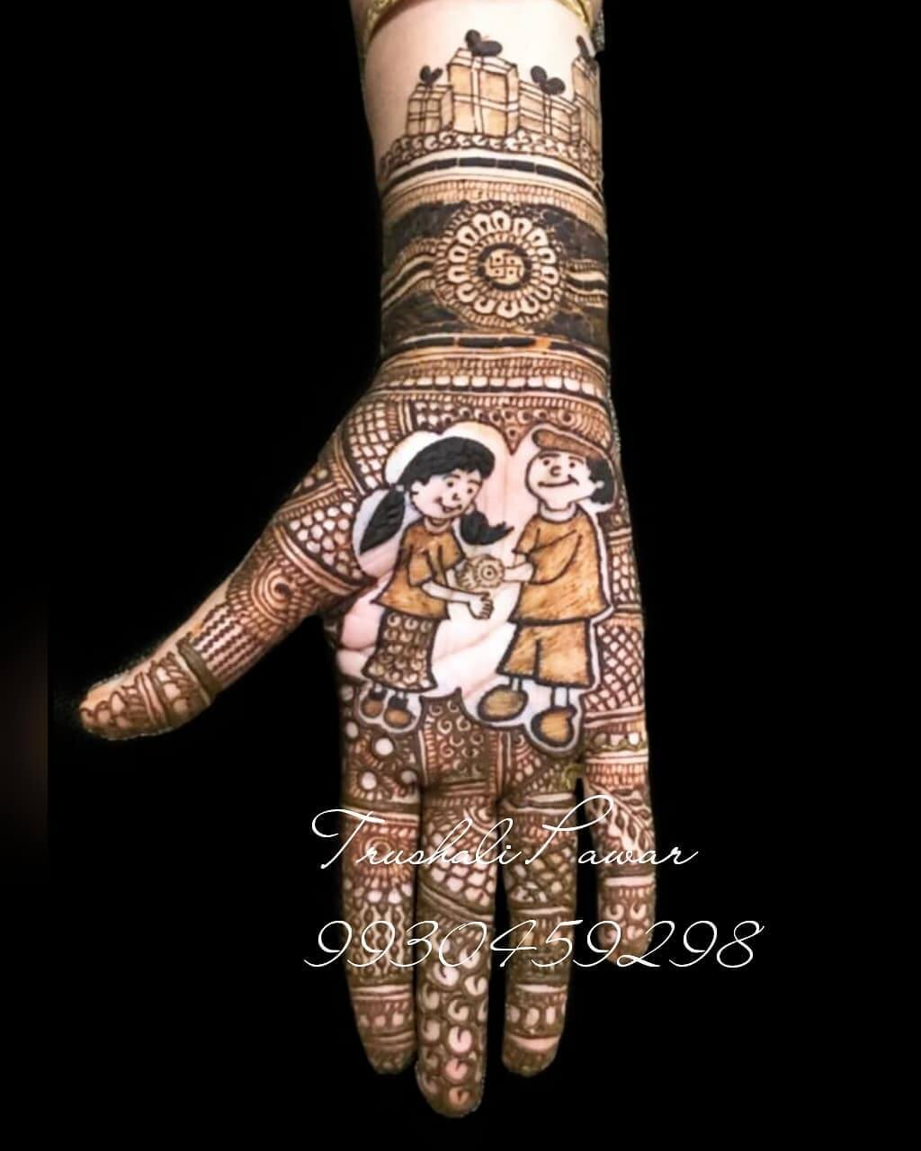 Show off your Love Latest Mehndi Designs for Raksha Bandhan