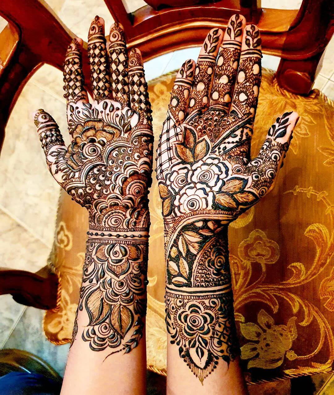 Full Hand Mehndi designs Mehndi for Back and Front Hand