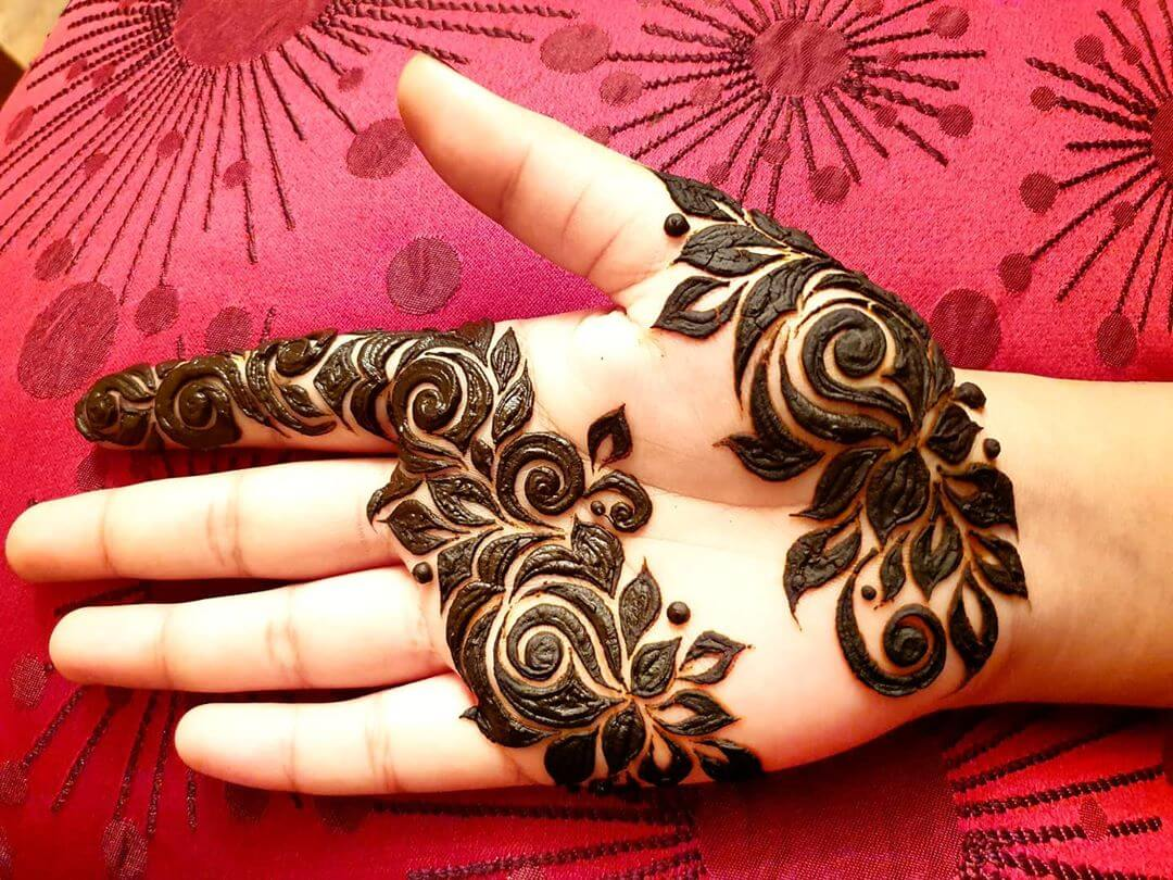 Dark and Beautiful Mehndi for Back and Front Hand