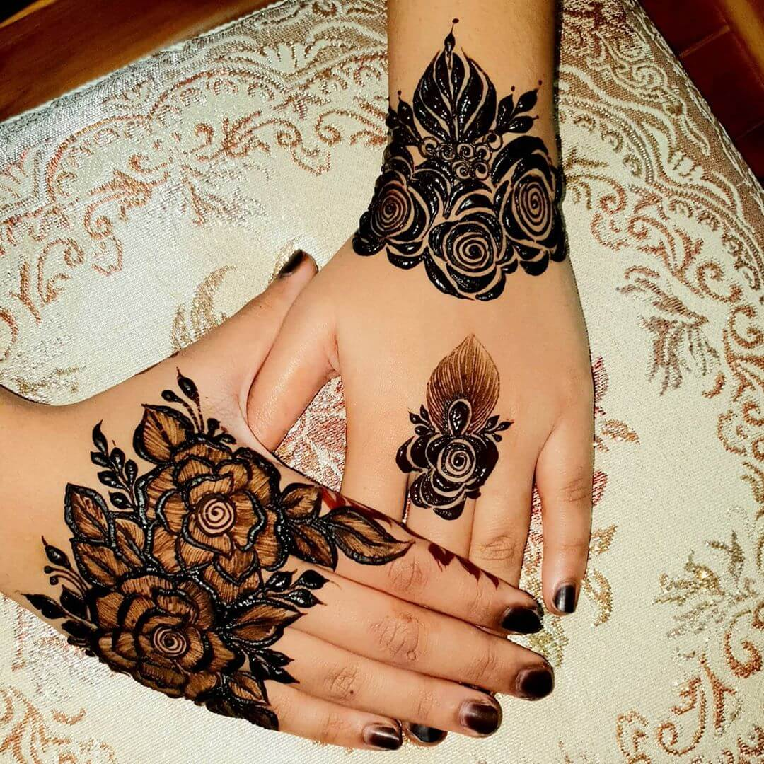 Jewelry Mehndi Designs Mehndi for Back and Front Hand
