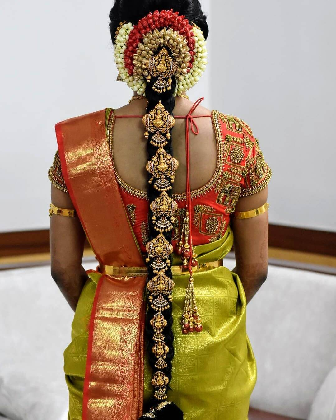 Recreating Traditional South Indian Bridal Hairstyles