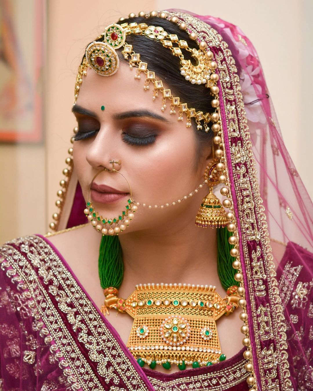 Kundan Borla Designs For Every Bride