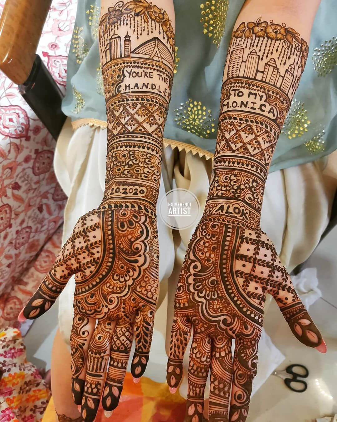 TV Series Reference Mehndi Designs For Front Hand