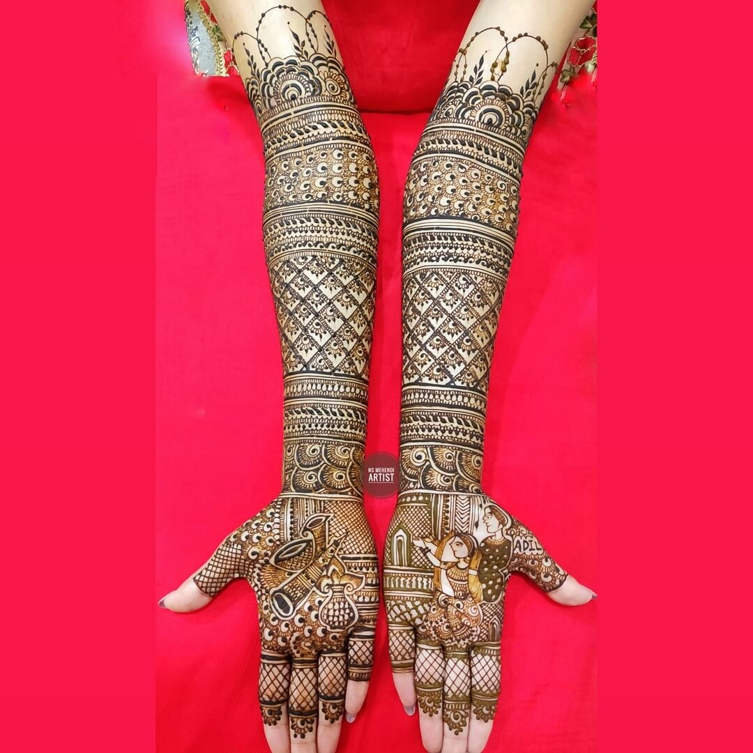 Personalized Choices Mehndi Designs For Front Hand
