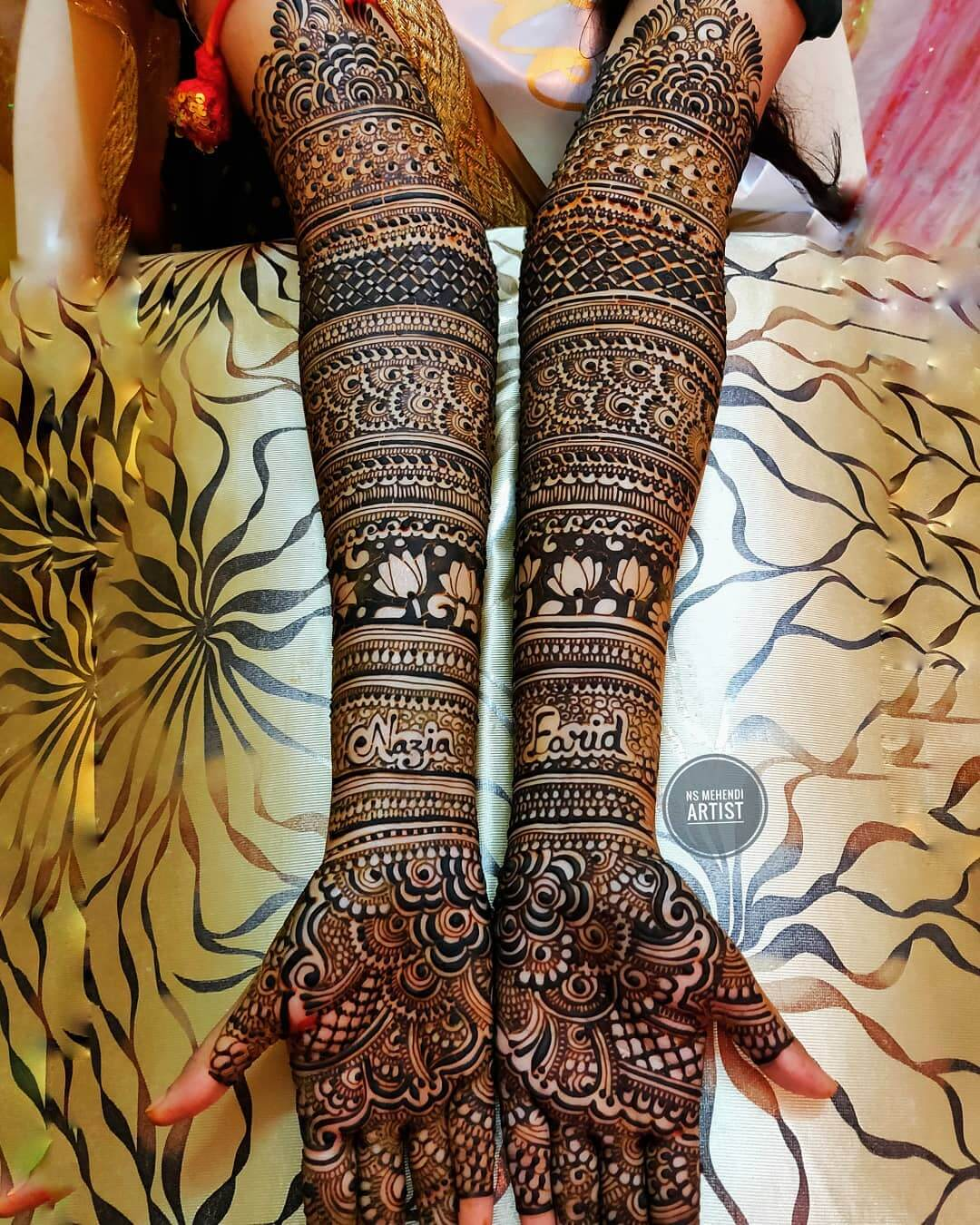 Bold and Beautiful Mehndi Designs For Front Hand