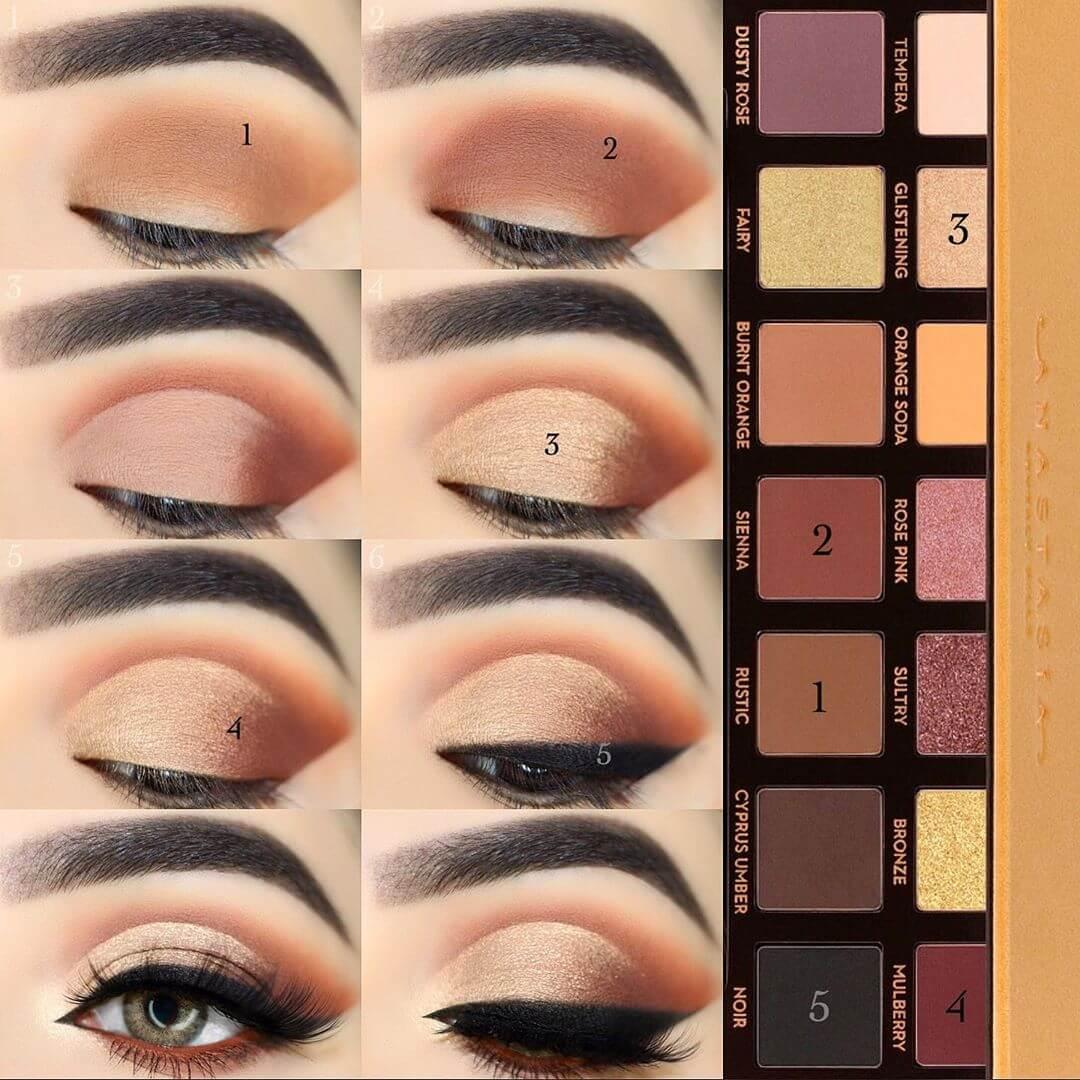 The Subtle Look Eye Makeup Pictorials For Women