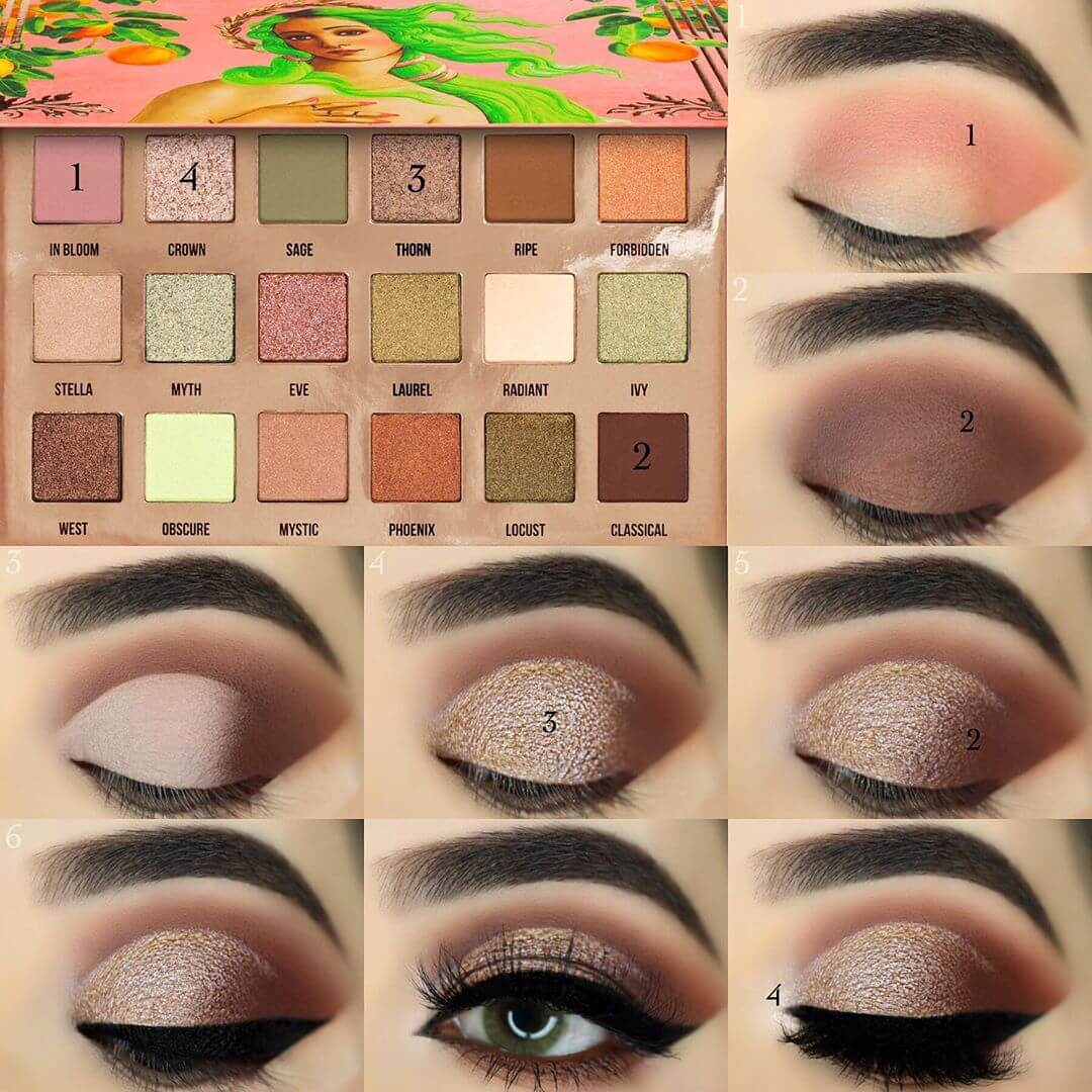 The Chocolate Brown Look Eye Makeup Pictorials For Women