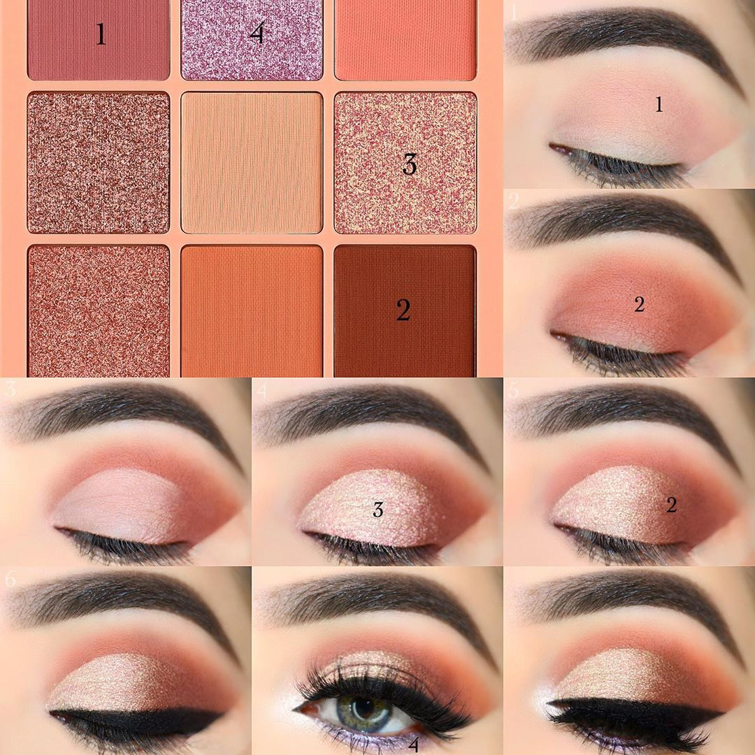 The Metallic in Rose Gold Eye Makeup Pictorials For Women