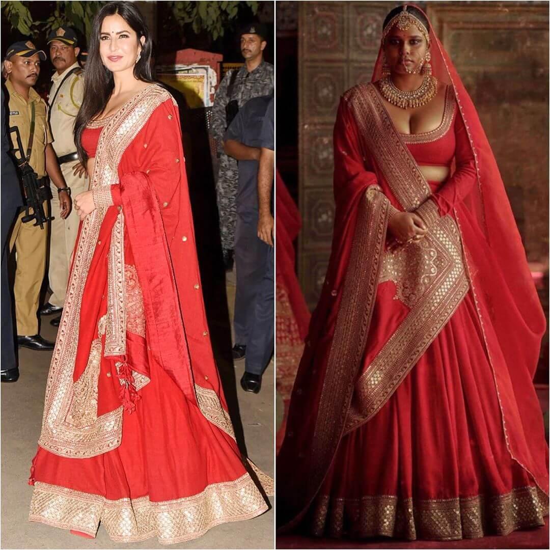 Designer Red Lehenga Latest Bollywood Inspired Diwali Outfits