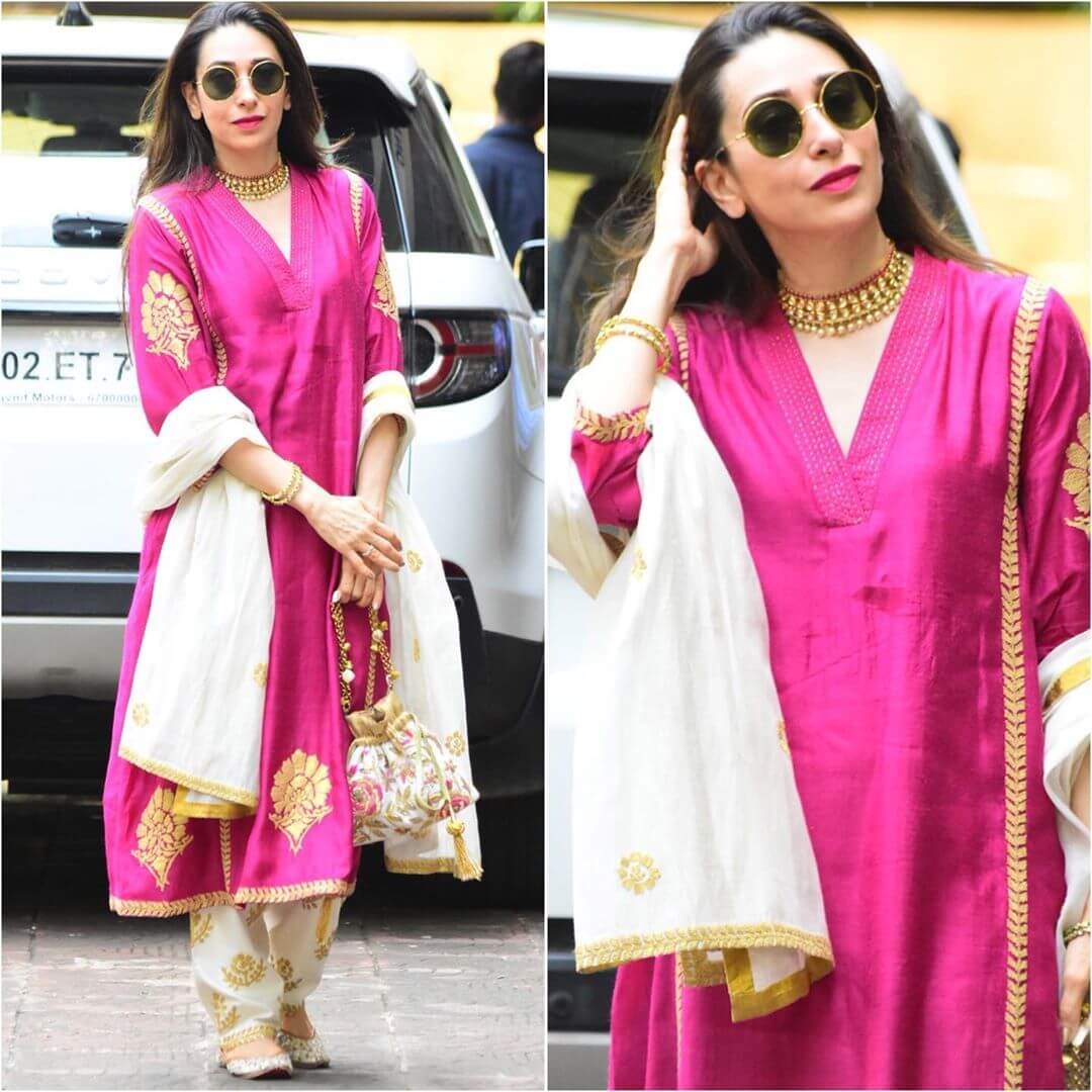 Elegant Pink Anarkali for Diwali Latest Bollywood Inspired Diwali Outfits