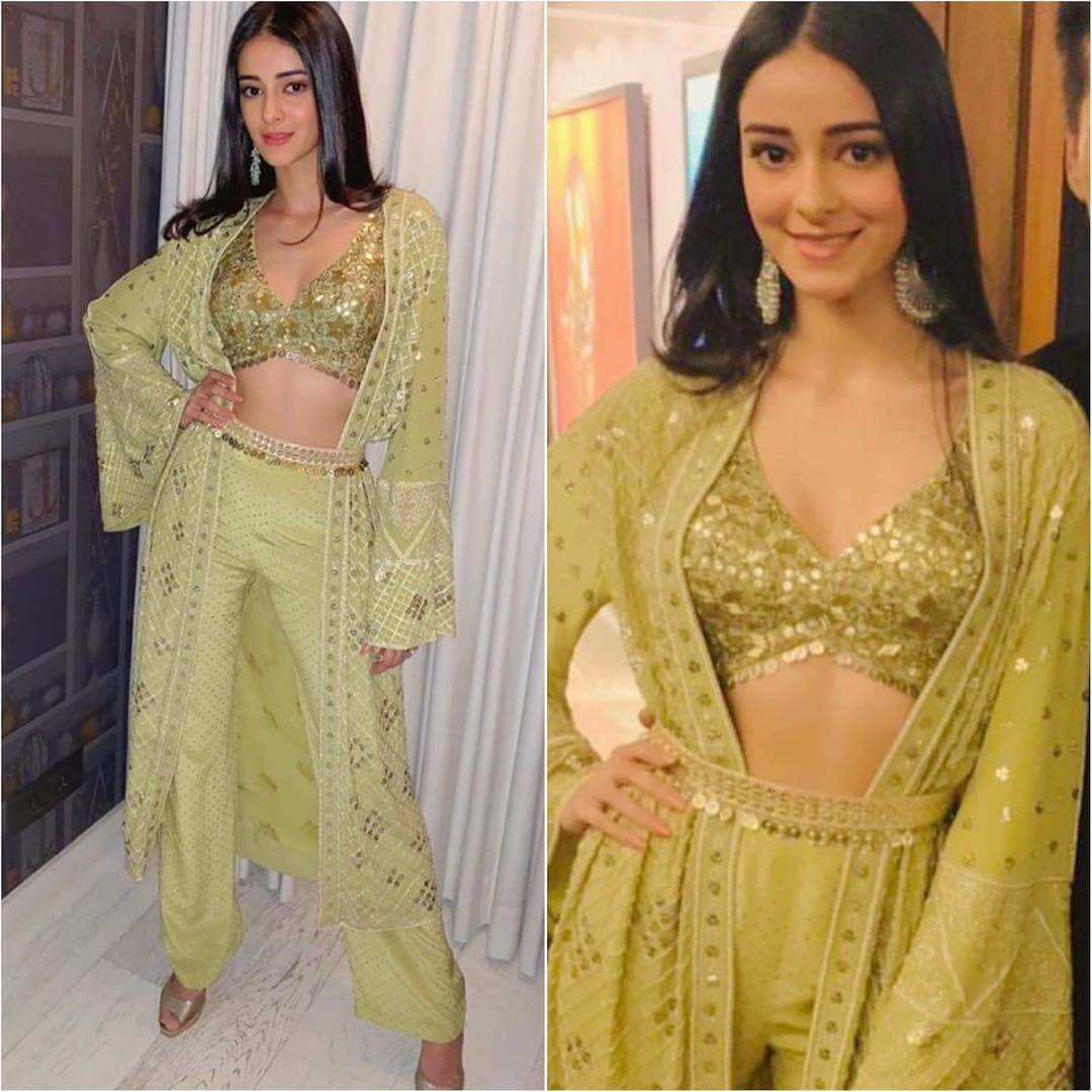 Designer Light Green Outfit for Diwali Latest Bollywood Inspired Diwali Outfits