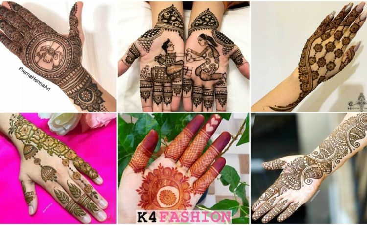 Rakhi special mehendi design for hands