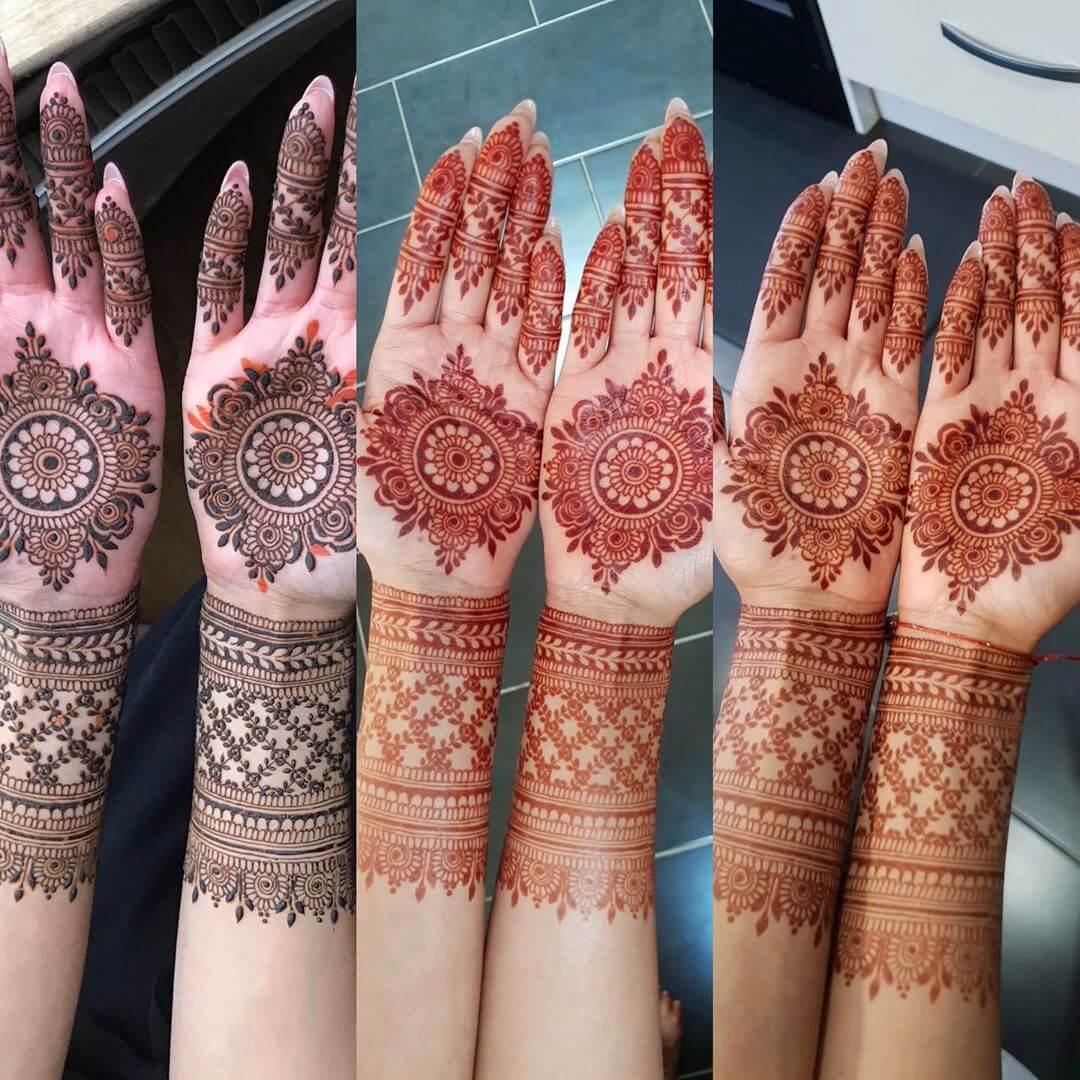 Bangle Mylanchi Design For Brides
