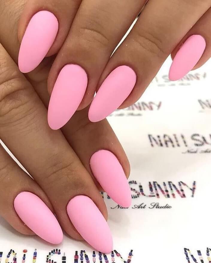 Pastel Pink Nail Art Designs
