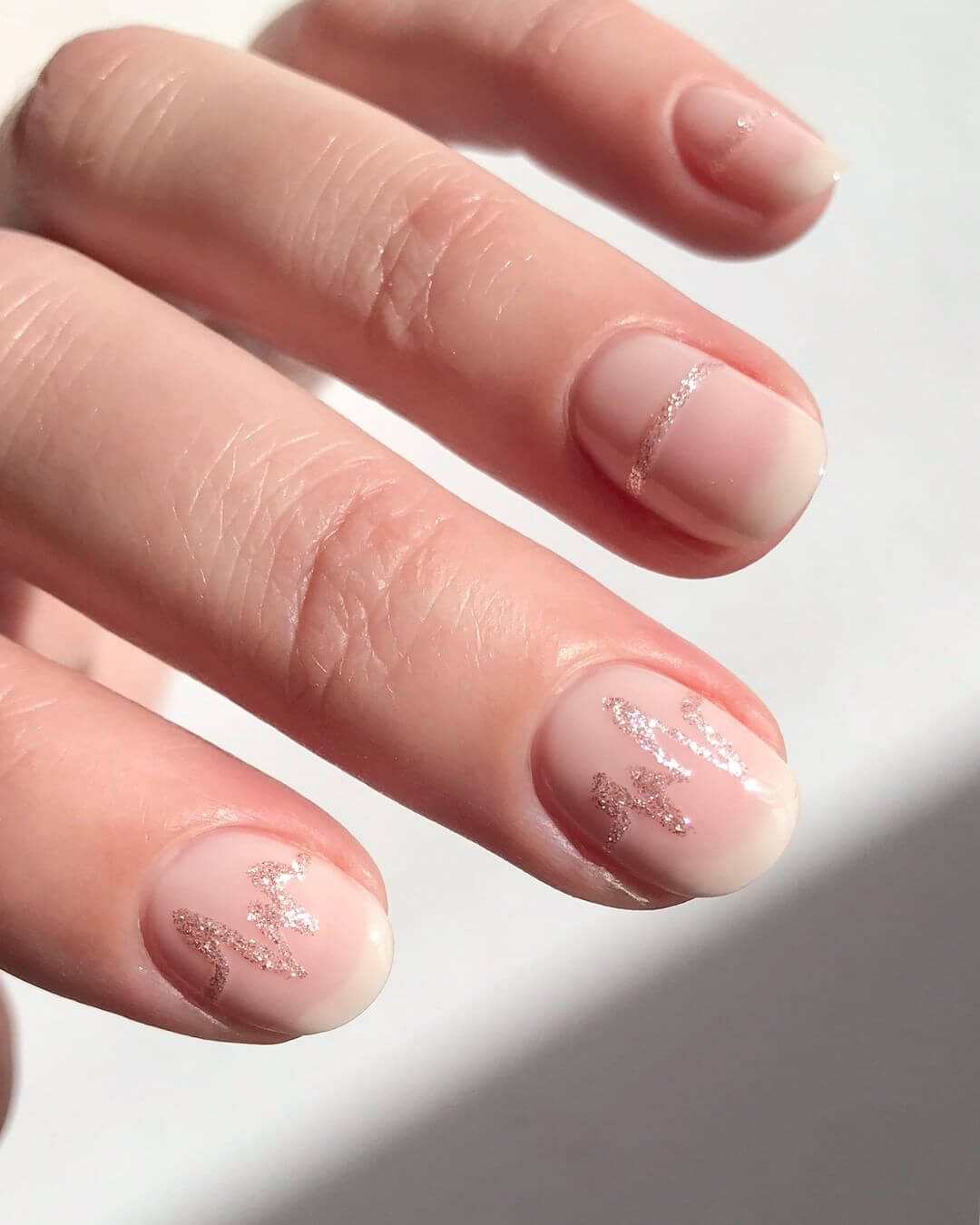 Nude Pink Nail Art Designs