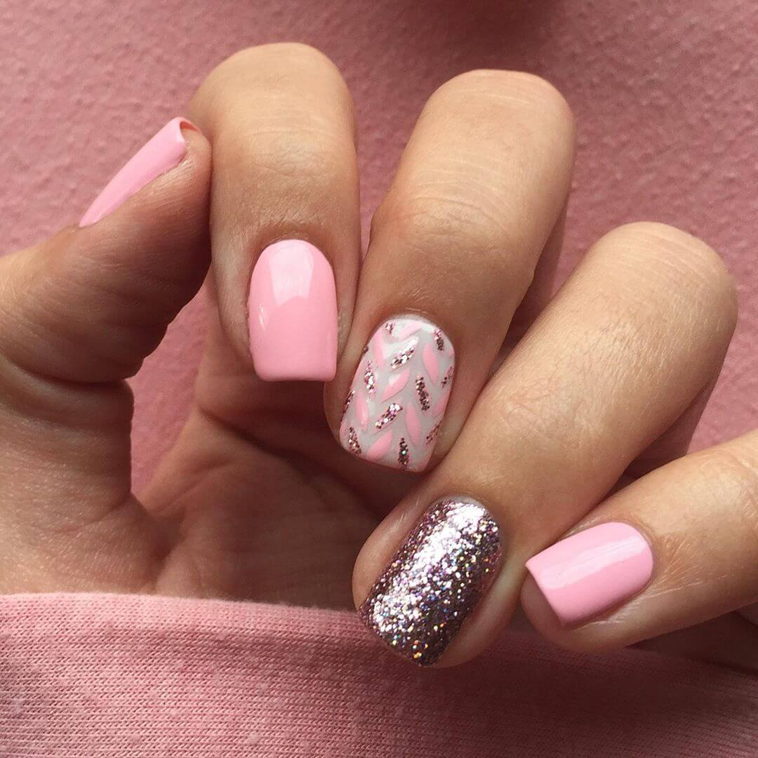 Cute and sexy Pink Nail Art Designs