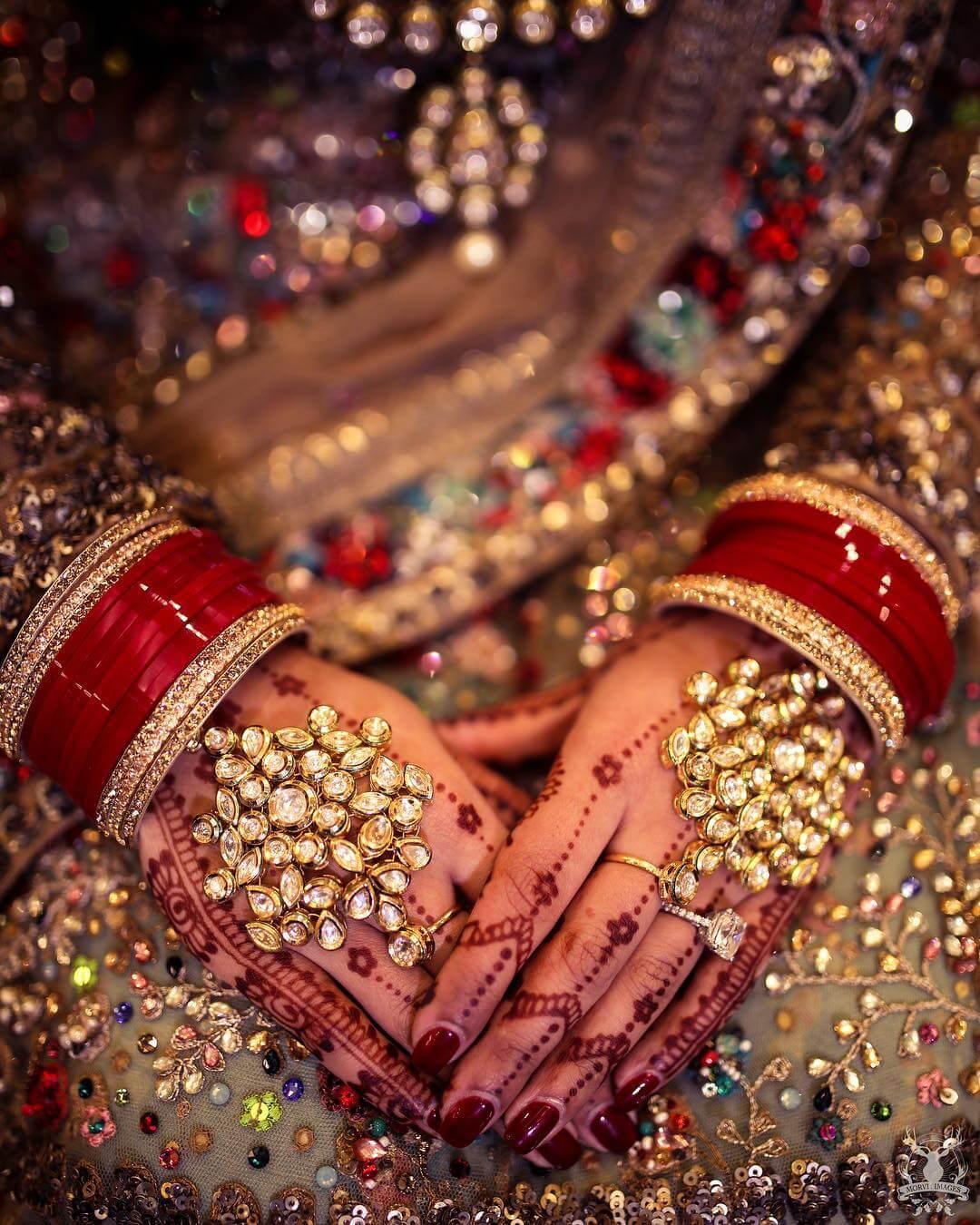 Haath phool design For Indian Brides