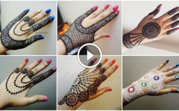 How to apply henna jewellery mehndi design