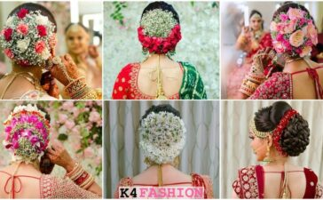 Indian Gujrati Bridal Hairstyles