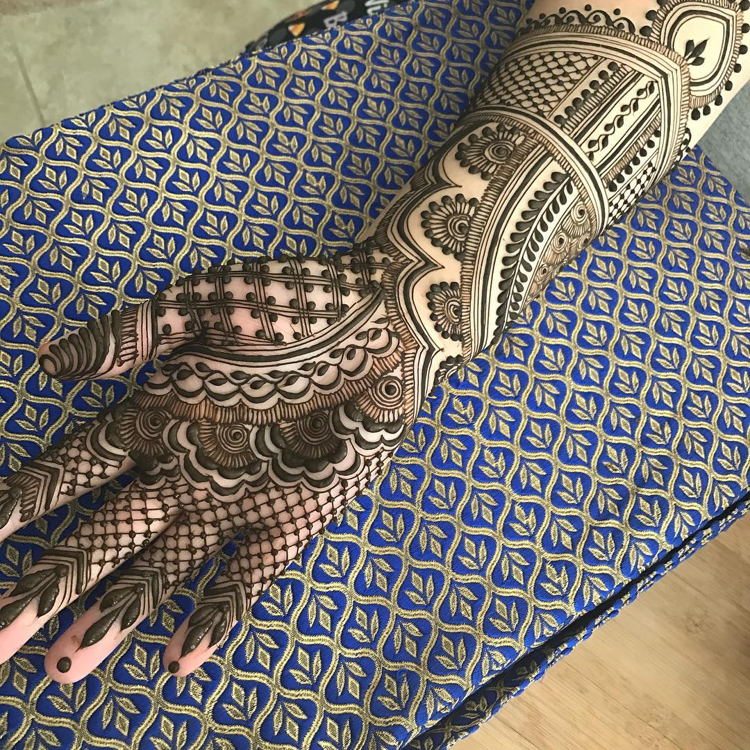 Mehndi Designs For Front Side