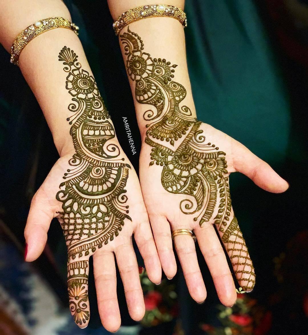 Arabic Bale Stylish Henna Mehndi Design For Hands