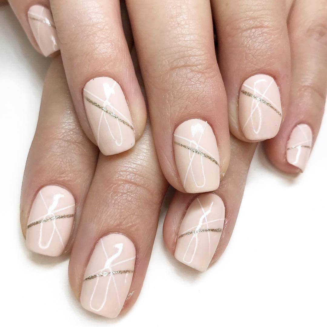 Bridal Wedding Nail Art Designs