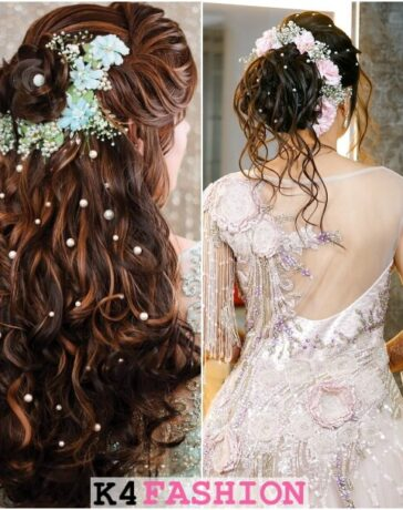 Indian Bridal Hairstyles Perfect For Your Wedding Functions