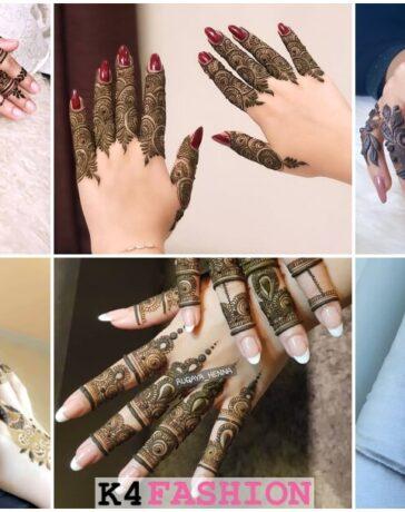 Khafif Henna Mehandi Designs For Fingers