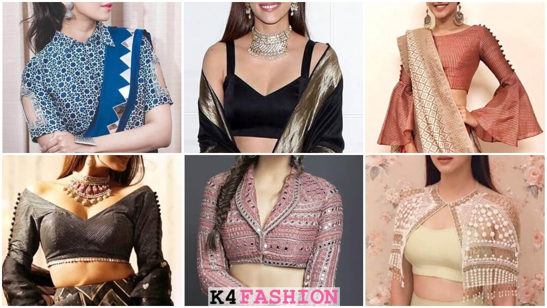 Latest Top Blouse Designs For Lehenga Choli