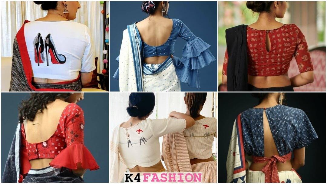 Blouse Back Neck Designs Archives K4 Fashion