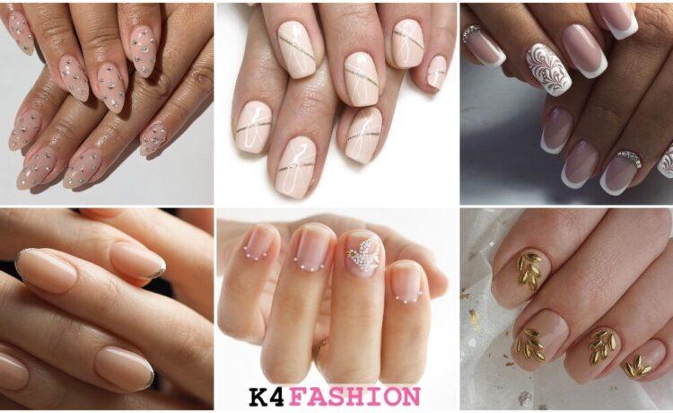 Easy and Gorgeous Wedding Bridal Nail Art Design