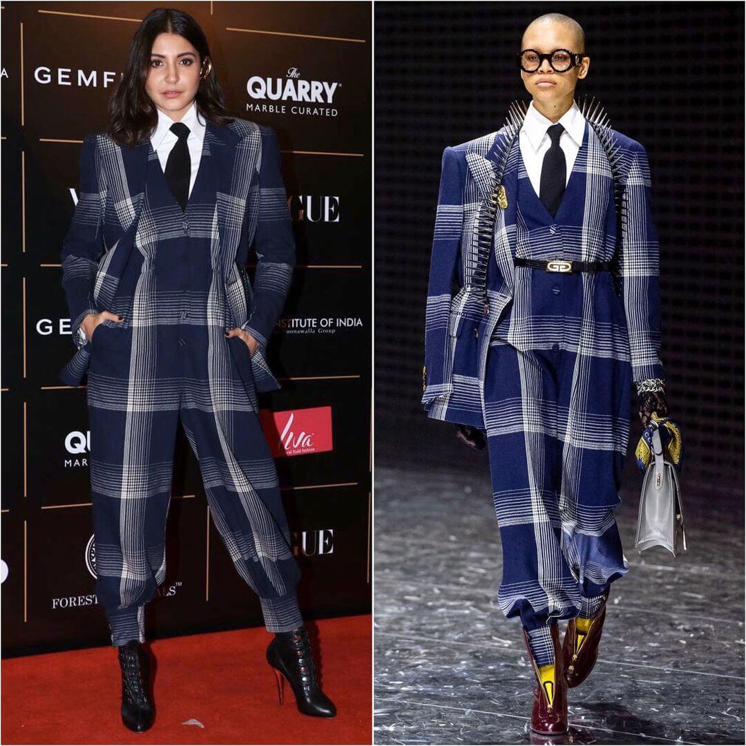 Anushka Sharma Killing The Checks Look With Gucci
