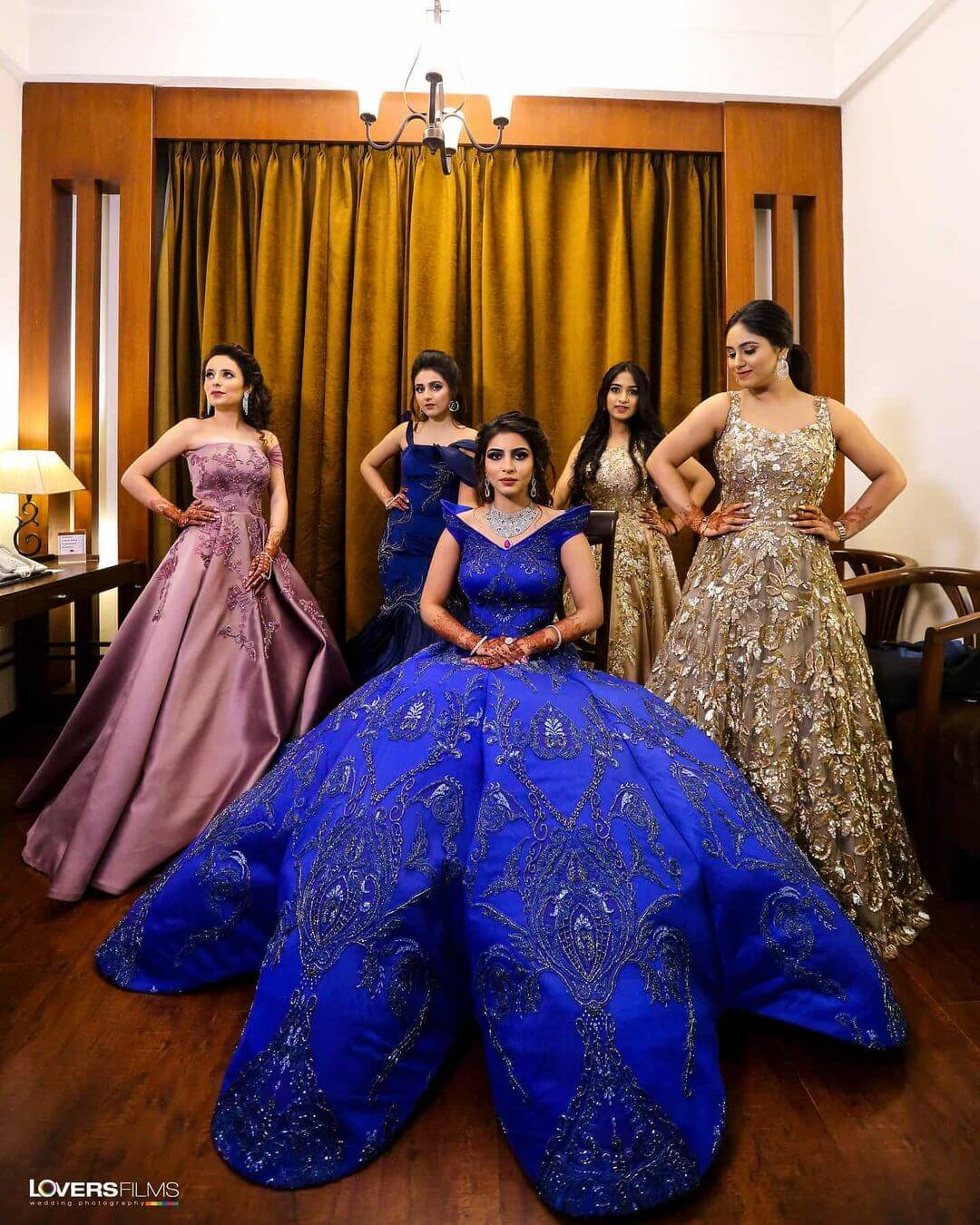 Ravishing Series of Ball Gowns for wedding functions