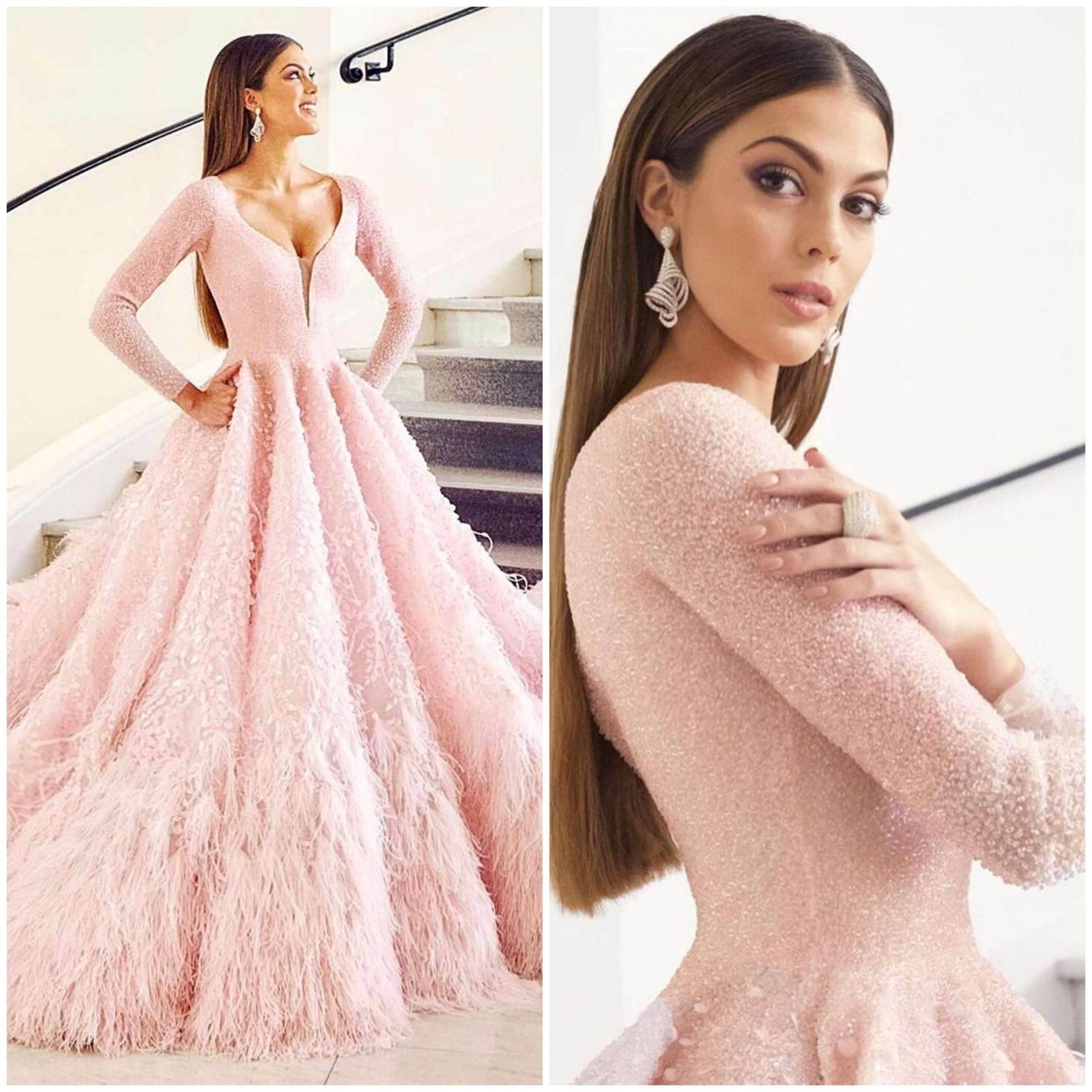 Well Known Couture Light Pink Ball Gown for wedding functions