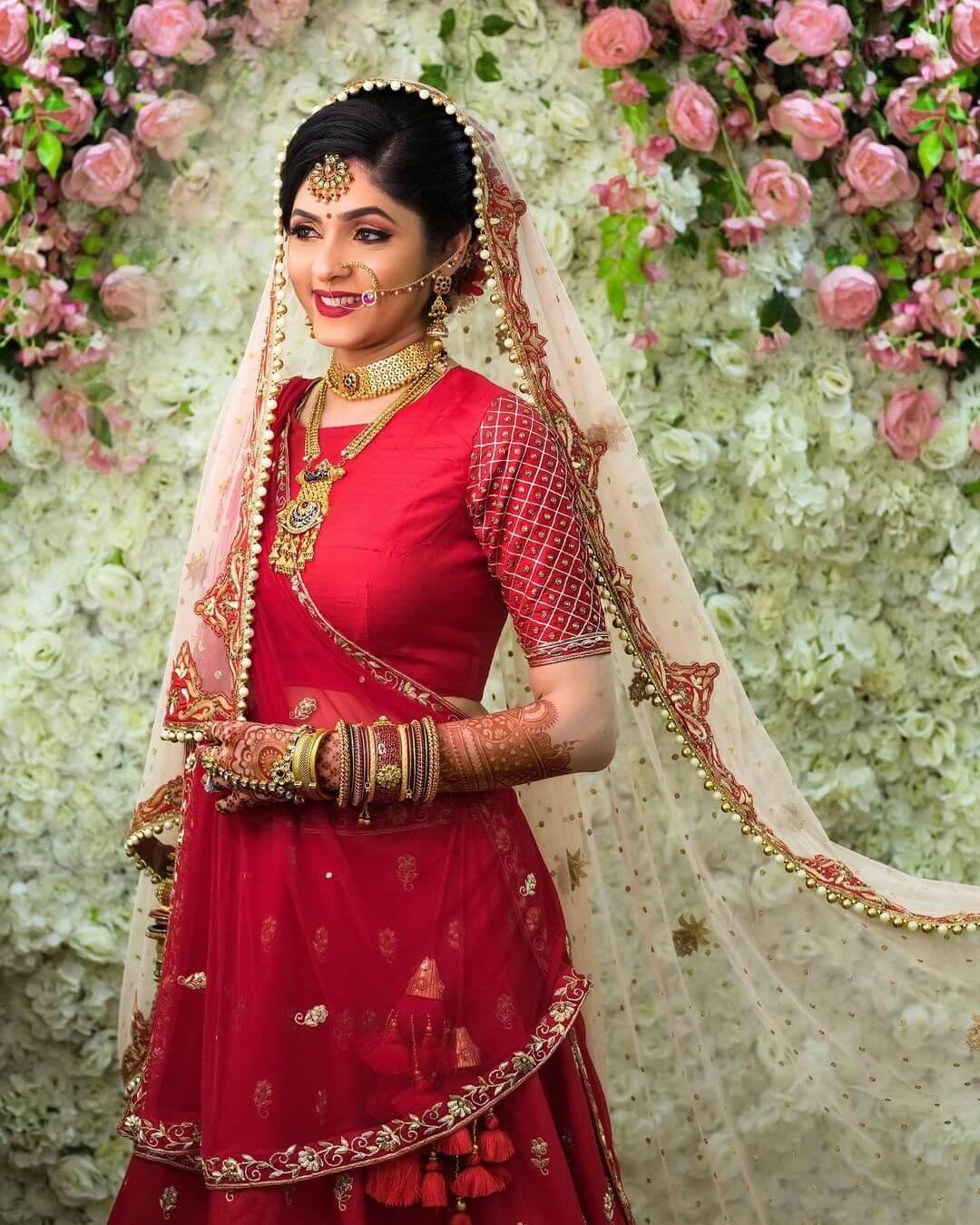 Beauty In Simplicity bridal Look