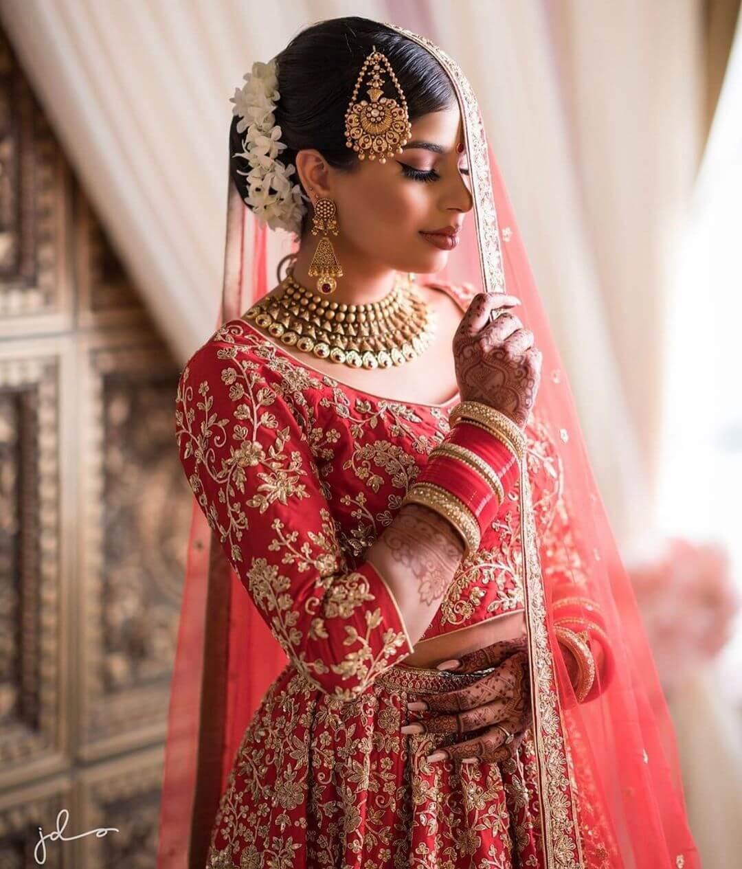 Antique Patch Look Passa/Jhoomar Designs For Muslim Bride
