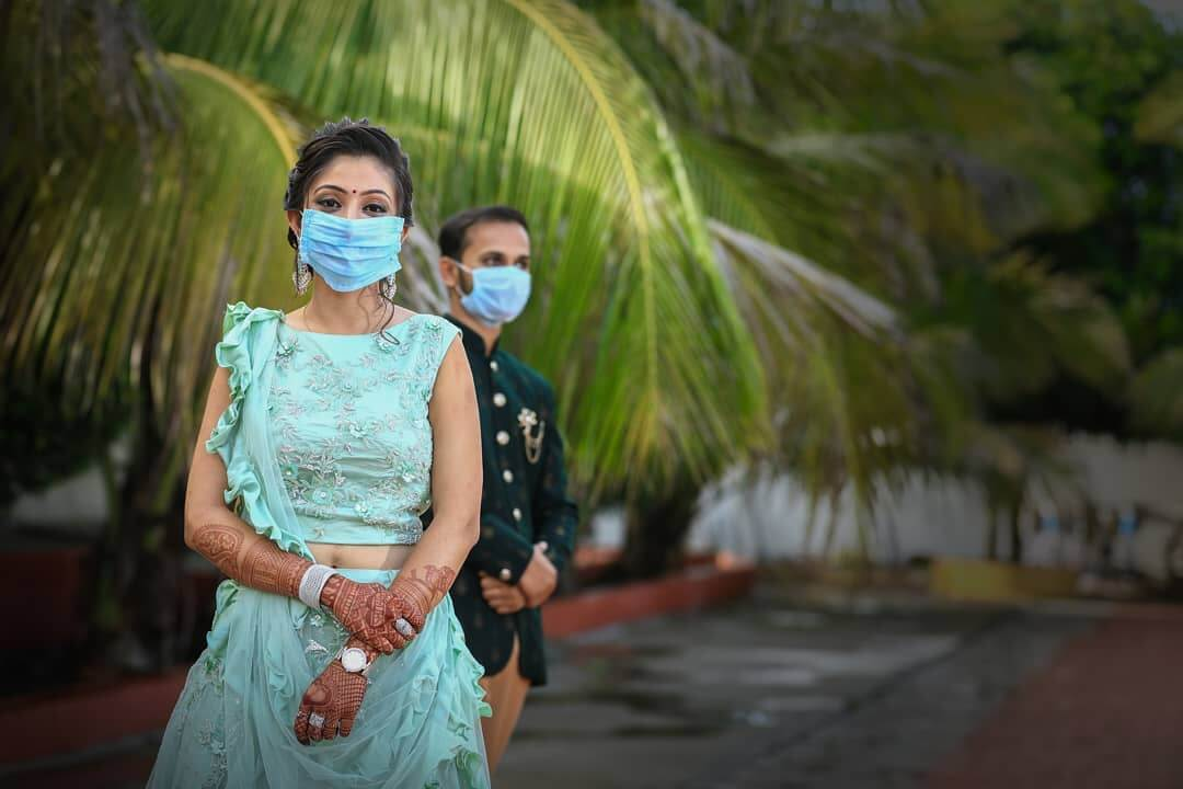 THE HISTORICAL MASK EFFECTS pre-wedding Photoshoot Ideas