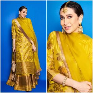 Suit it up Traditional Yellow Outfits for Indian Festivals