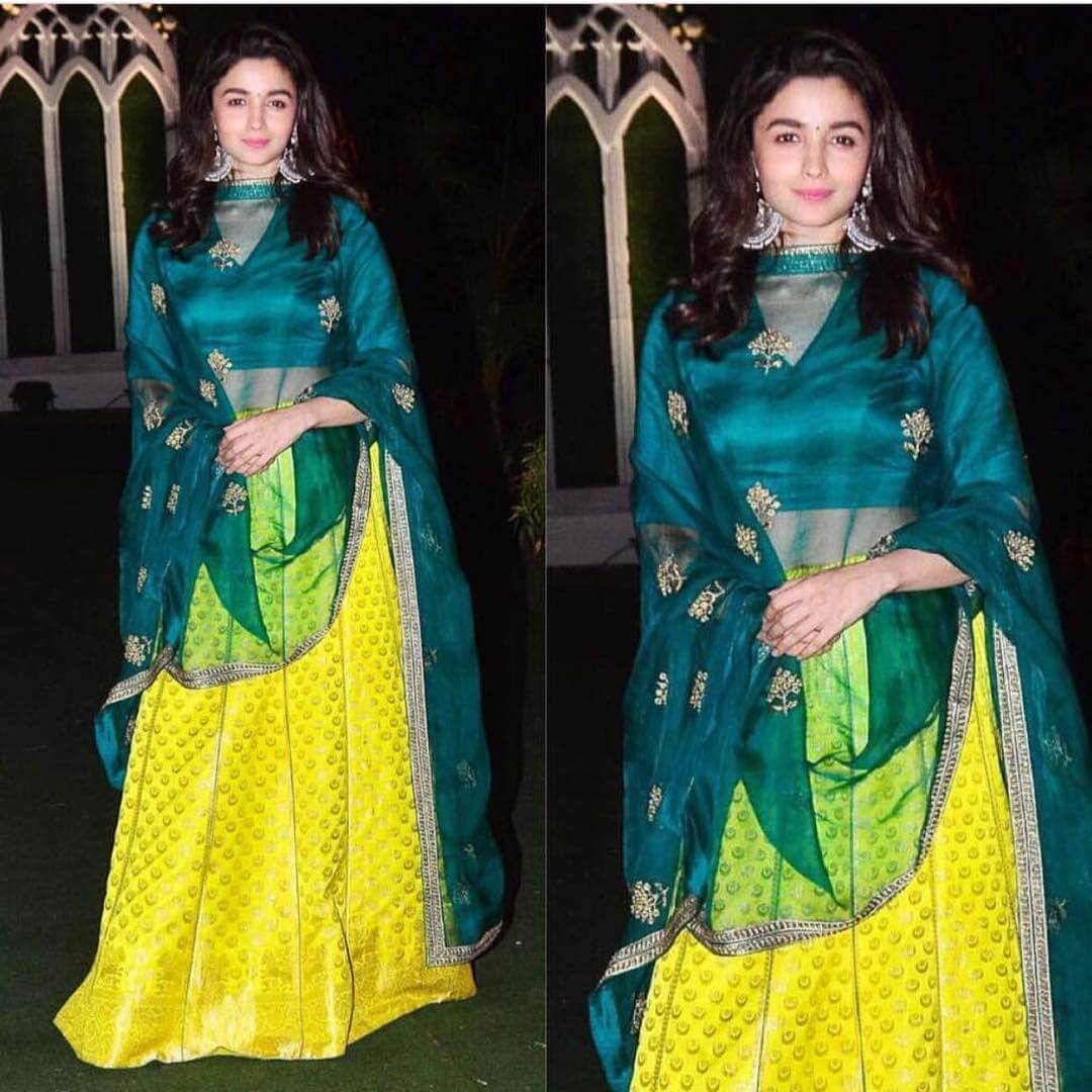 Sharradha Kapoor Shine like a Sun Traditional Yellow Outfits for Indian Festivals