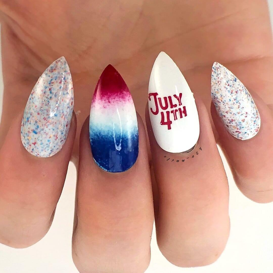 4th Of July Nail Art Designs he Most Satisfying Design Is Here!