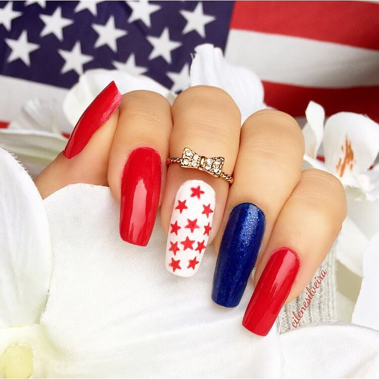 Feel Cute With This Adorable Design with American Flag