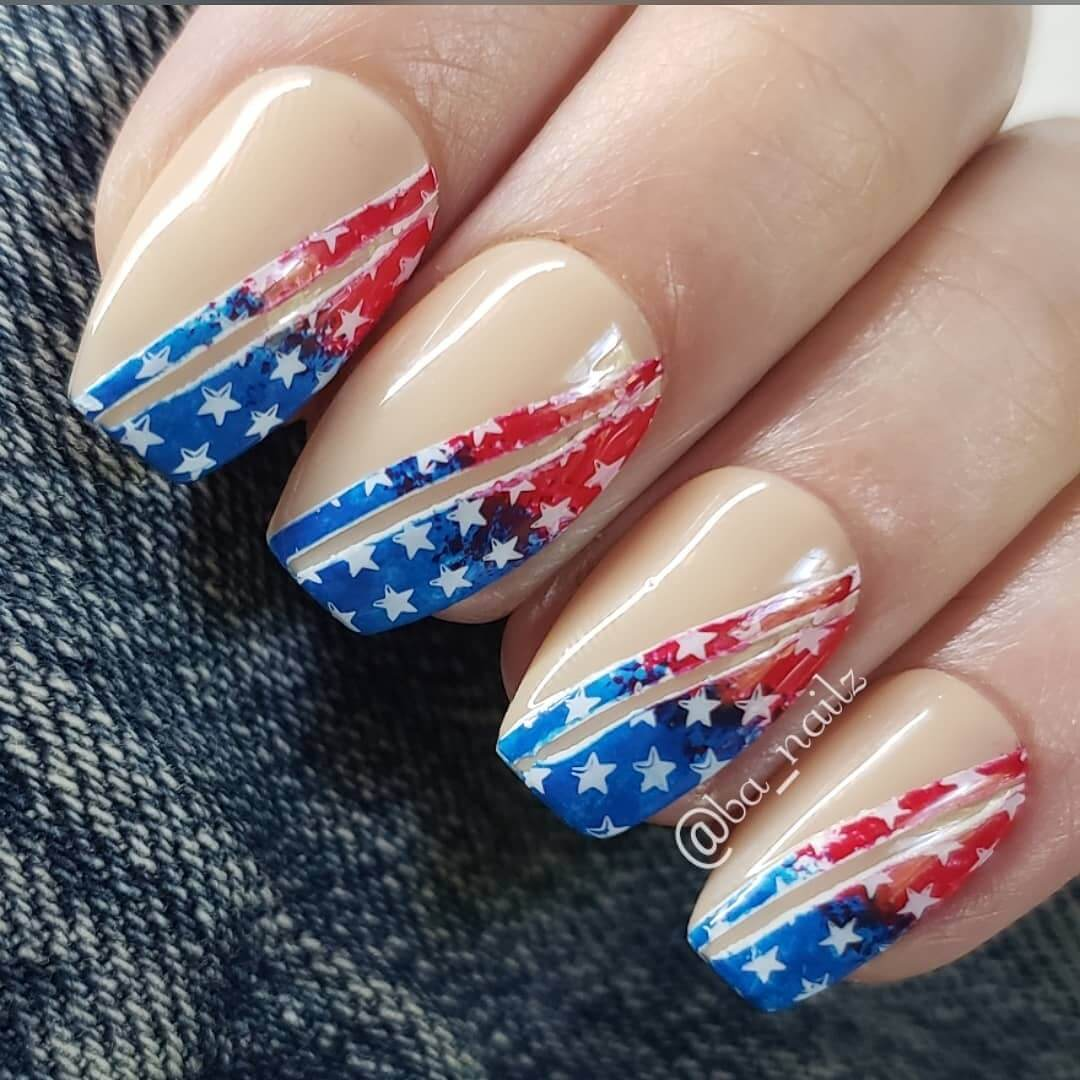 4th Of July Nail Art Designs This Relaxing Nail Art Will Steal Your Heart